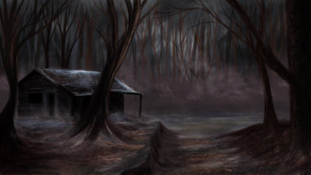 Alone In The Forest by olivierarts