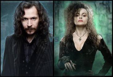 Sirius vs Bellatrix by itsHEV