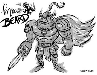Mousebeard by DREWELBI