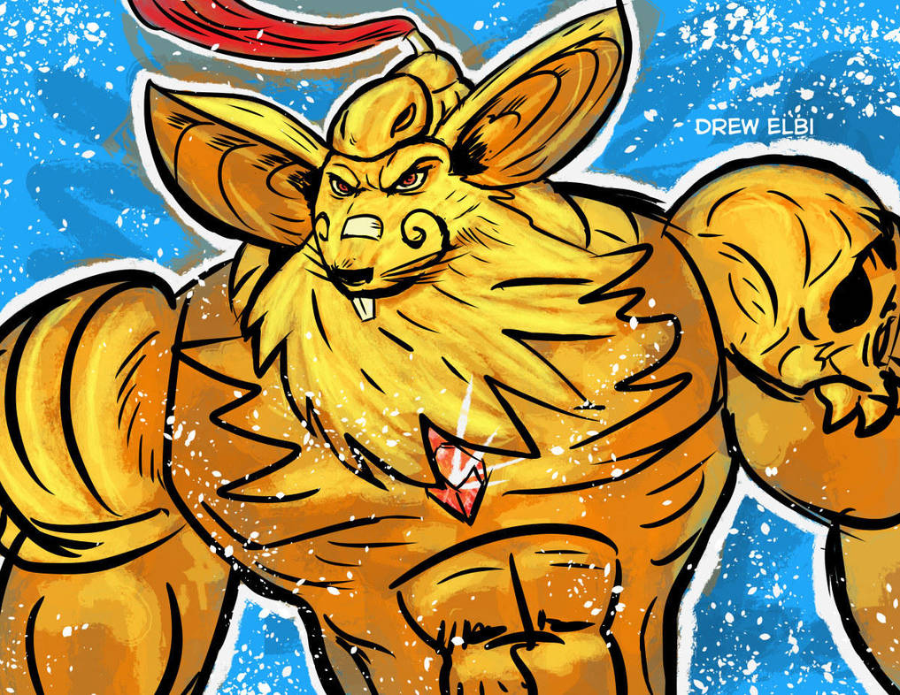 Golden Mouse Beard by DREWELBI