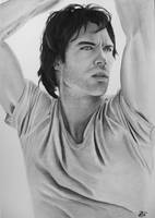 Ian Somerhalder by ricagstettner