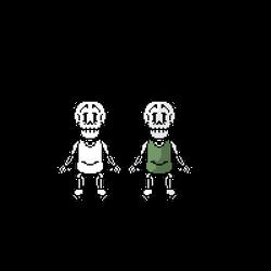 Handplates - Papyrus Battle Sprite by User672