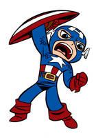 Captain America Blair Style by Tombancroft by Kenkira