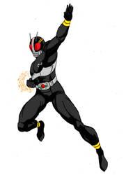 Kamen Rider Black by FlavioQuintino by Kenkira