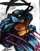 Ninja Turtles   Slash By Felipe Rodrigues by Kenkira