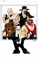 Paul Bearer And Friends By Madman1  Grant Perkins by Kenkira
