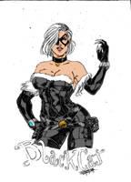 Alternate Blackcat by jeansinclairarts by Kenkira