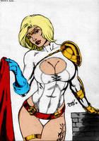 Powergirl By Dlimaart by Kenkira