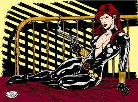 P02  Black Widow By RudPatrocinio by Kenkira