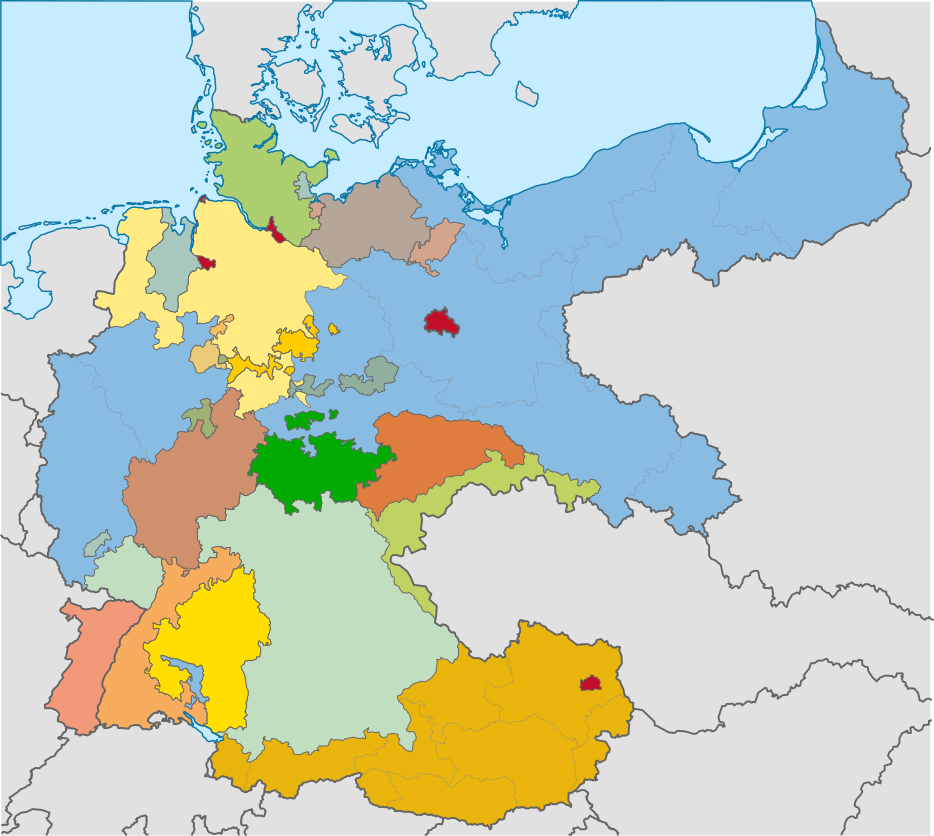 Central Germany Map.Map Of Germany Central Victory By Jake456 On Deviantart