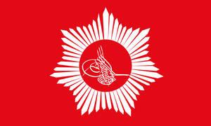 Imperial standard of Mehmed VI by Jake456