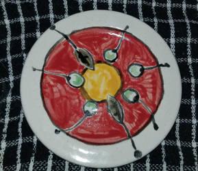 Ceramic Plate - Majolica 5 by Misades