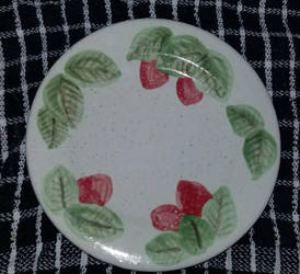 Ceramic Plate - Majolica 6 by Misades