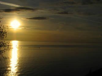 Sun going down by SkyfireDragon
