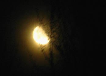 The Moon as seen in a dream by SkyfireDragon