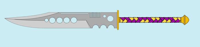 I drew an anime sword by SkyfireDragon