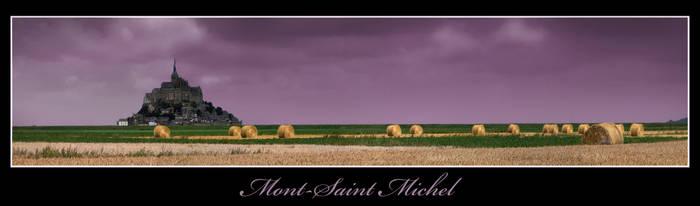 Mont-Saint-Michel by BPart