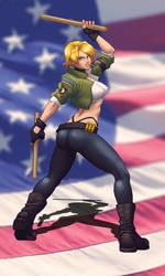 Mortal Kombat Tribute: Sonya Blade (MKDA ver.) by Jiggeh