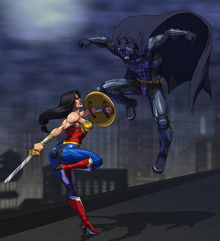 Injustice: Wonder Woman Vs. Batman by Jiggeh