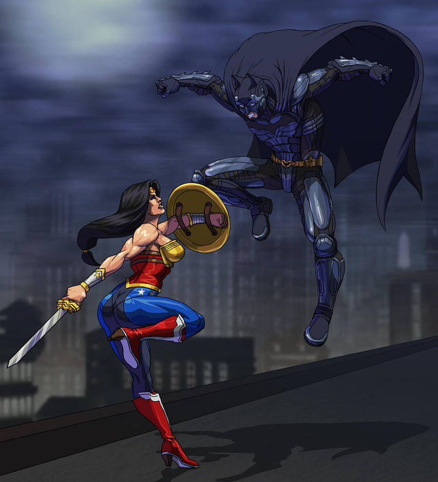 Injustice: Wonder Woman Vs. Batman by Jiggeh on DeviantArt