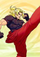 Street Fighter V: KEN by Jiggeh