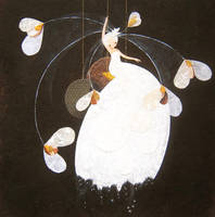snow flower by cathydelanssay