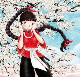 Hanami by cathydelanssay