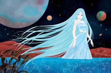 Princesses De La Galaxie Essai 2 by cathydelanssay