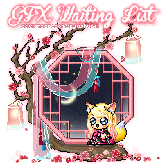 Official GFX Commissions Waiting List by ryushurei