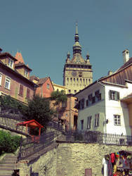 Summer in Sighisoara by kidwithacrown