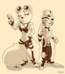 Steampunk Style by AoiRemArt