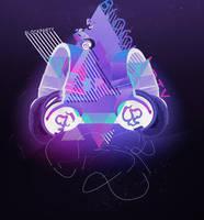 Block Party - Headphones by alkalican