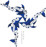 Dolphin triad by DragonAotearoa