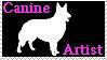 Canine Artist stamp by Lora-Pedigree