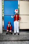 Red Toad - Super Mario Bros by RubenMakenshi