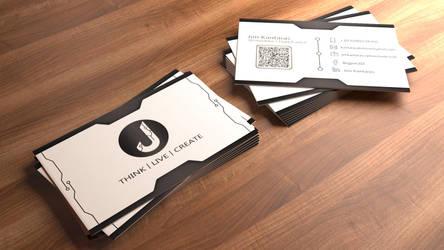 Personal business card by Bigjim3D