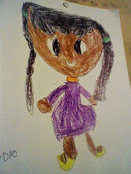 My little sisters drawing Erdle by Picarian