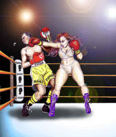 Boxing Virgin by boxeogirls