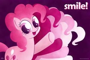 Pinkie Pie - Smile! by kefkafloyd