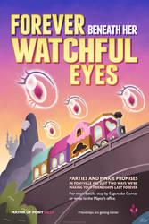 Forever Beneath Her Watchful Eyes - Pinkie Pie by kefkafloyd