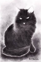 Black Cat by CaptainBeth