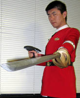 TWOK Uniform: Gentlemen Should Always be Armed! by galaxy1701d
