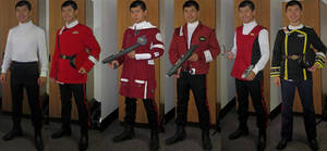 Captain's Uniform Locker (June 2013) by galaxy1701d