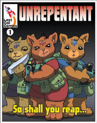Unrepentant issue 1 cover by Barkon68