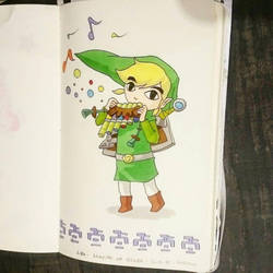 LINK of Zelda  by papablogueur