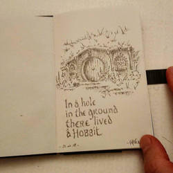 Hobbit House Tolkien  by papablogueur
