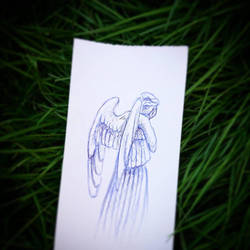 Don't Blink ! Les anges pleureurs. Doctor Who  by papablogueur