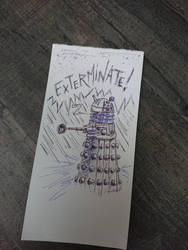Dakek Doctor Who by papablogueur