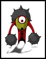 Spike Eye by igeking
