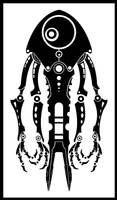 Tribal Robot 3 by igeking